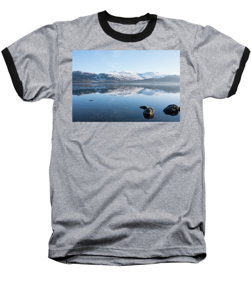 Derwentwater Rocks Baseball T-Shirt