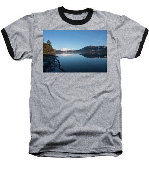 Derwentwater Shore View Baseball T-Shirt
