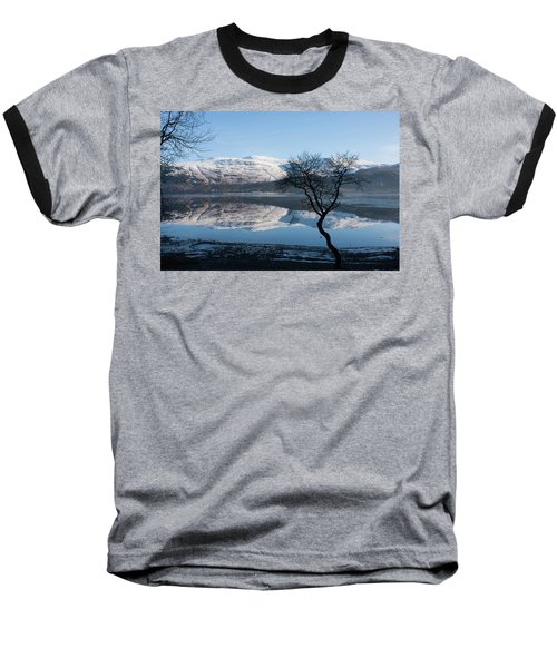 Derwentwater Tree View Baseball T-Shirt