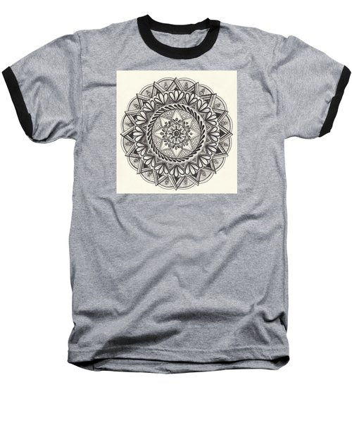Des Tapestry Medallion Baseball T-Shirt