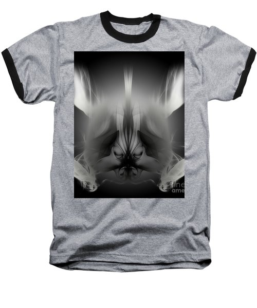 Descent Baseball T-Shirt by Clayton Bruster