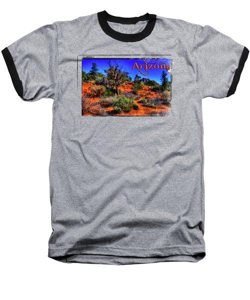 Desert And Mountains Baseball T-Shirt