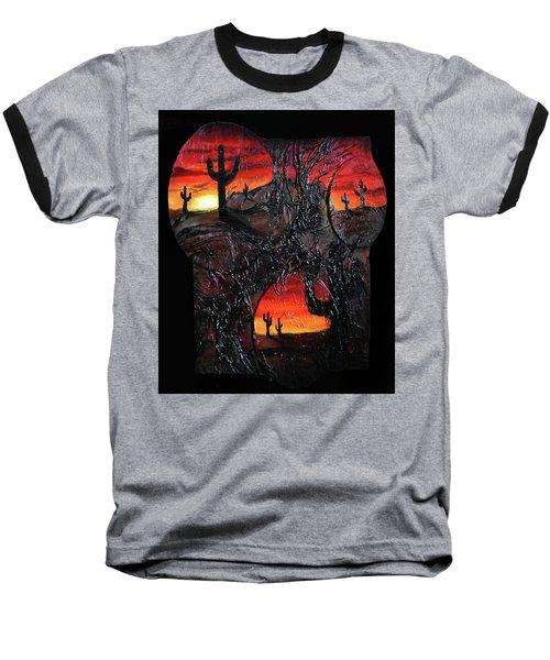 Desert Baseball T-Shirt by Angela Stout