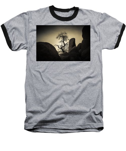 Desert Bonsai Baseball T-Shirt