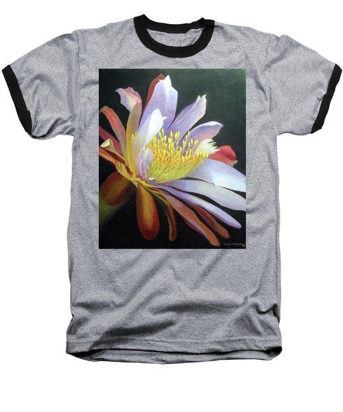 Desert Cactus Flower Baseball T-Shirt
