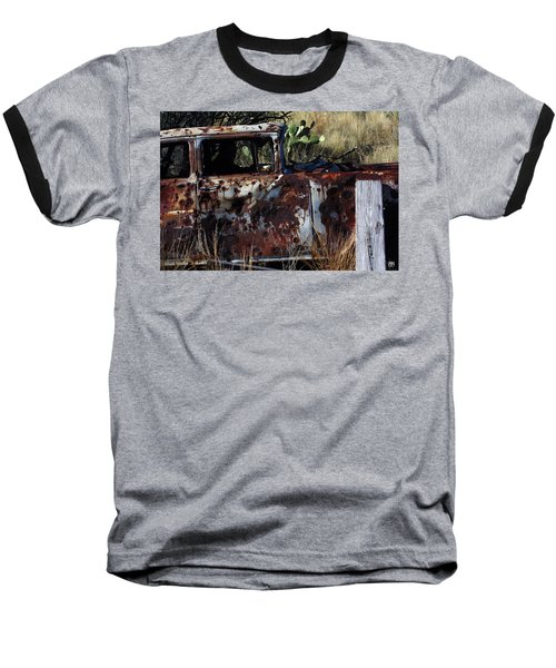 Desert Car Baseball T-Shirt