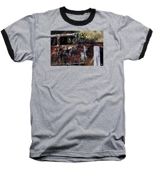 Desert Car Baseball T-Shirt