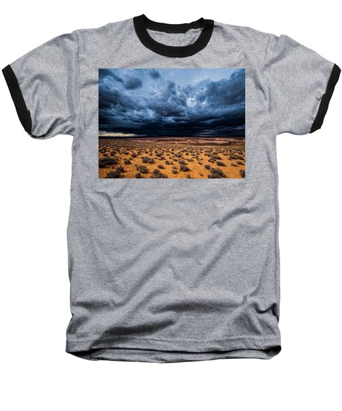 Desert Clouds Baseball T-Shirt