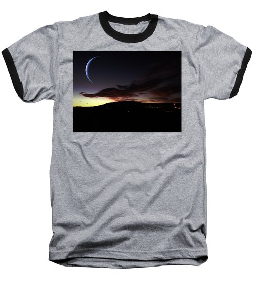 Desert Crescent Baseball T-Shirt
