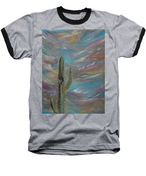 Desert Dust Baseball T-Shirt