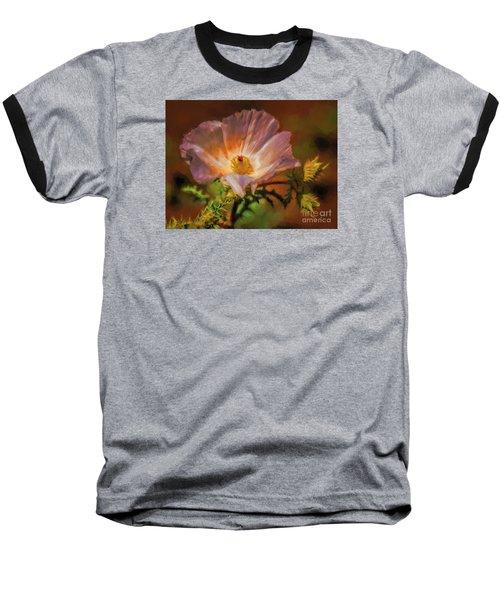 Desert Flower  ... Baseball T-Shirt by Chuck Caramella