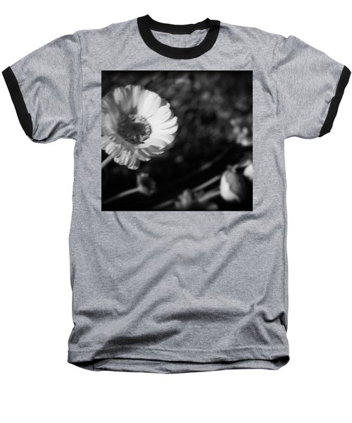Baseball T-Shirt featuring the photograph Desert Flower In Holga Mood by Carolina Liechtenstein