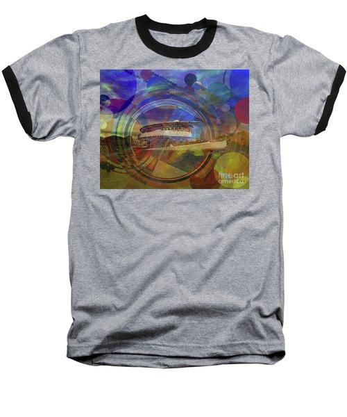 Desert Flower Baseball T-Shirt