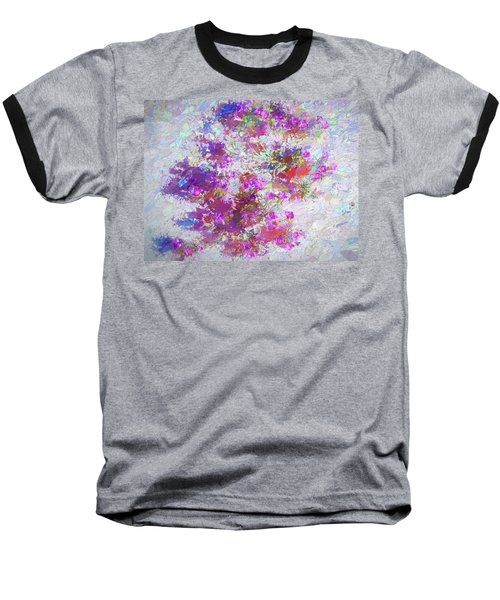 Desert Flowers Abstract 3 Baseball T-Shirt