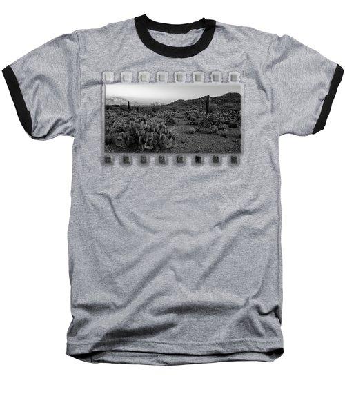 Desert Foothills H30 Baseball T-Shirt by Mark Myhaver
