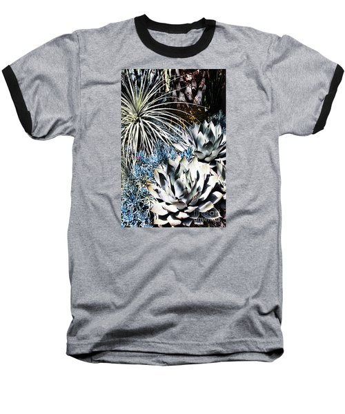 Baseball T-Shirt featuring the photograph Desert Garden by Judy Wolinsky