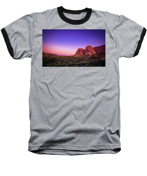 Desert Grape Rock Baseball T-Shirt