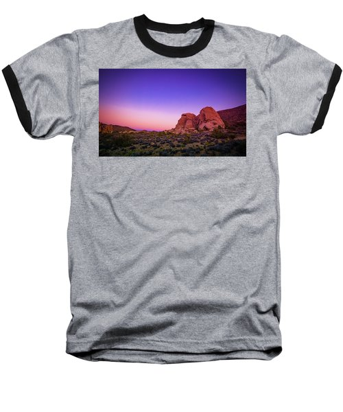 Desert Grape Rock Baseball T-Shirt