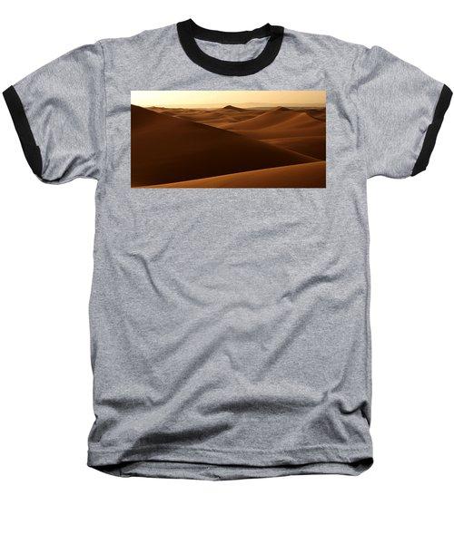 Desert Impression Baseball T-Shirt by Ralph A  Ledergerber-Photography