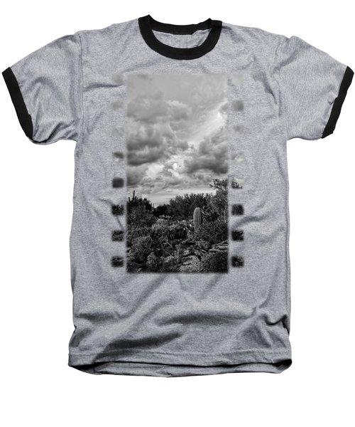 Desert In Clouds V15 Baseball T-Shirt by Mark Myhaver