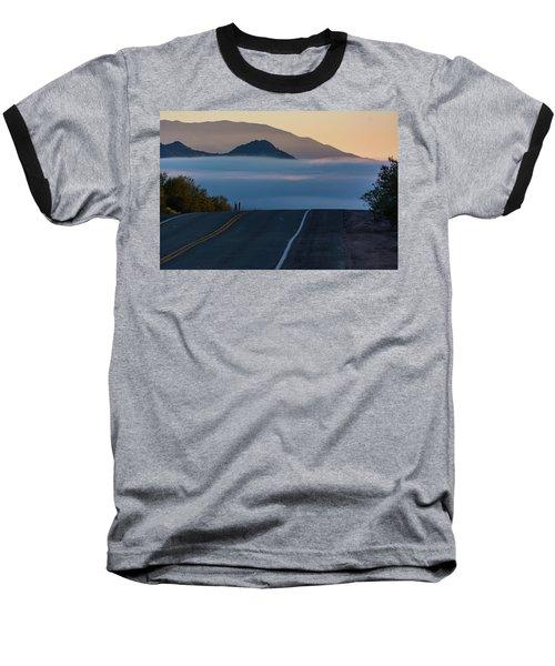 Desert Inversion Highway Baseball T-Shirt