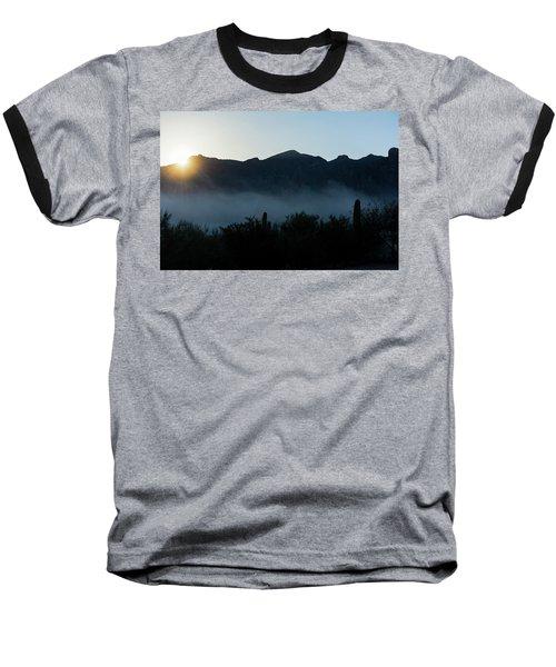 Desert Inversion Sunrise Baseball T-Shirt