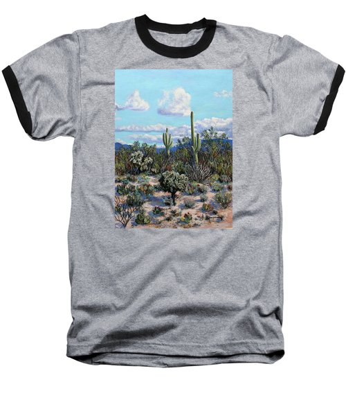 Desert Landscape Baseball T-Shirt