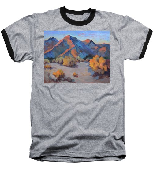 Baseball T-Shirt featuring the painting Desert Light by Diane McClary