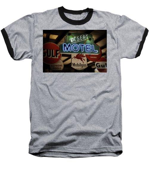 Desert Motel Baseball T-Shirt