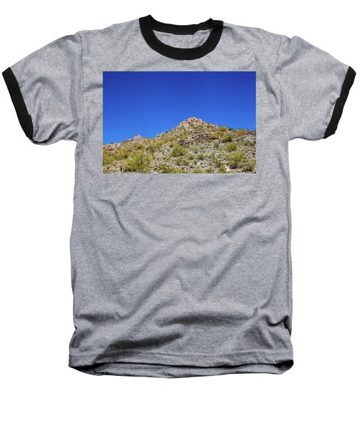 Baseball T-Shirt featuring the photograph Desert Mountaintop by Ed Cilley