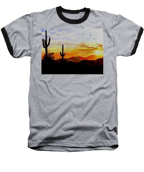 Desert Mustangs Baseball T-Shirt