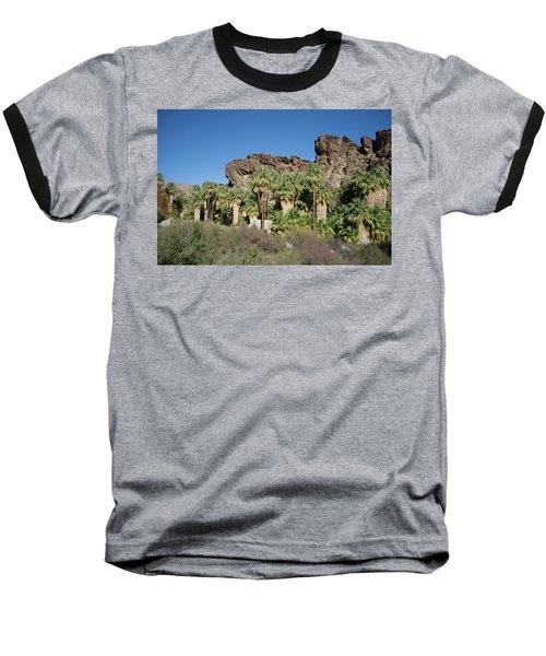 Baseball T-Shirt featuring the photograph Desert Oasis V by Frank DiMarco