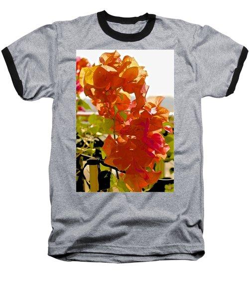 Desert Orange Baseball T-Shirt