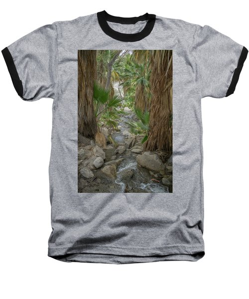 Baseball T-Shirt featuring the photograph Desert Palms Oasis by Frank DiMarco