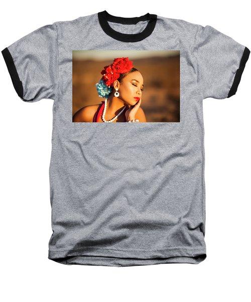Desert Pearl Baseball T-Shirt
