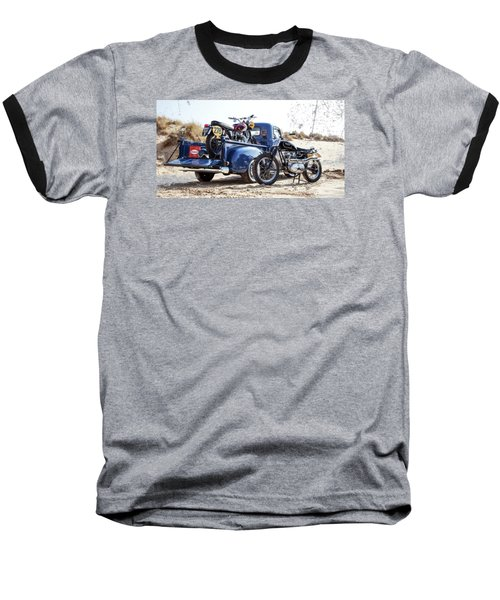 Desert Racing Baseball T-Shirt