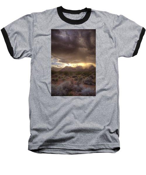 Desert Rain Baseball T-Shirt