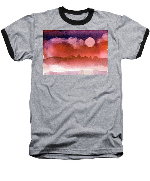 Desert Reflection Baseball T-Shirt
