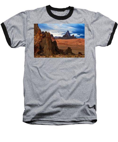 Baseball T-Shirt featuring the photograph Desert Rocks by Harry Spitz