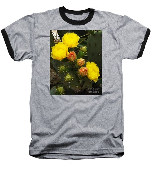 Desert Rose Baseball T-Shirt