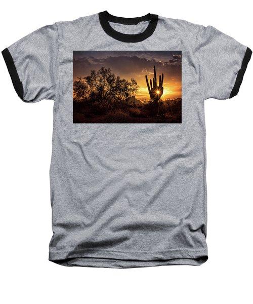 Baseball T-Shirt featuring the photograph Desert Skylight  by Saija Lehtonen