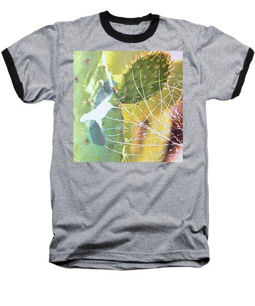 Desert Spring Baseball T-Shirt by Kathy Bassett