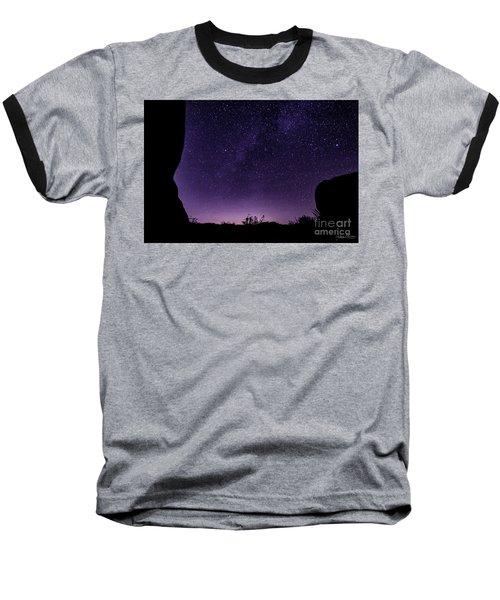 Desert Starscape Baseball T-Shirt