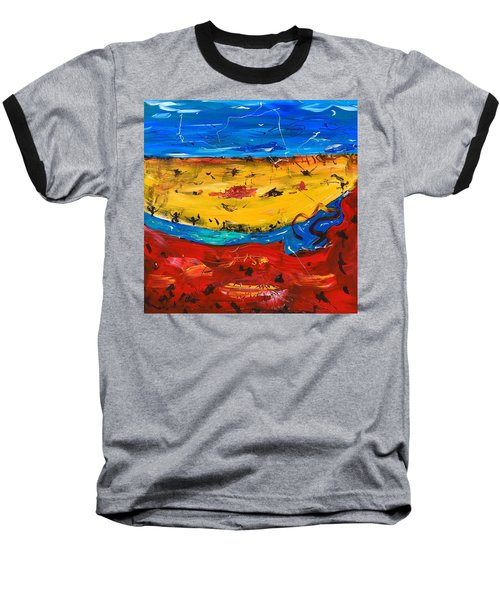 Desert Stream Baseball T-Shirt