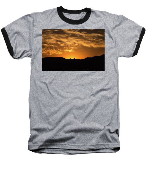 Desert Sunrise Baseball T-Shirt