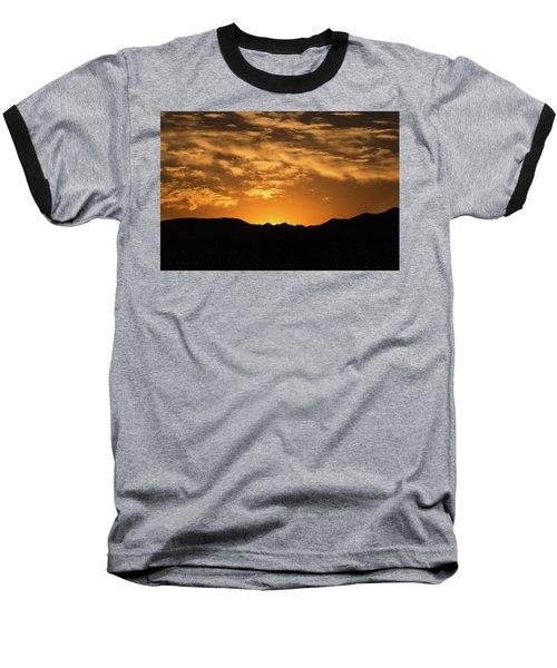 Desert Sunrise Baseball T-Shirt
