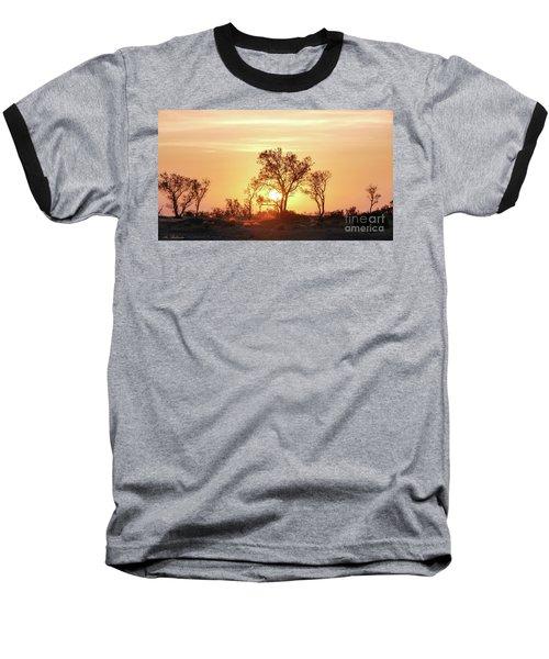 Desert Sunset Baseball T-Shirt