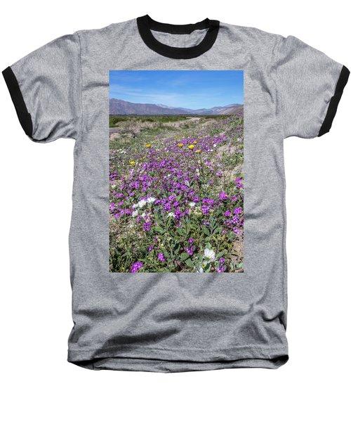 Baseball T-Shirt featuring the photograph Desert Super Bloom by Peter Tellone