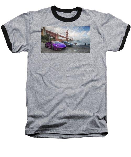 Baseball T-Shirt featuring the photograph Desert To Bay Rally 2016 by Steve Siri