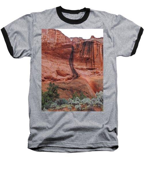 Desert Varnish Along Burr Trail Baseball T-Shirt